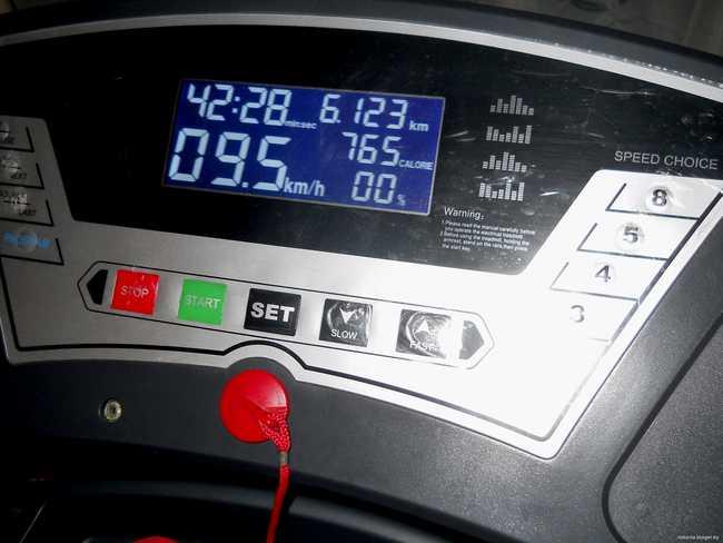 Расчет сжигания калорий во время тренировки